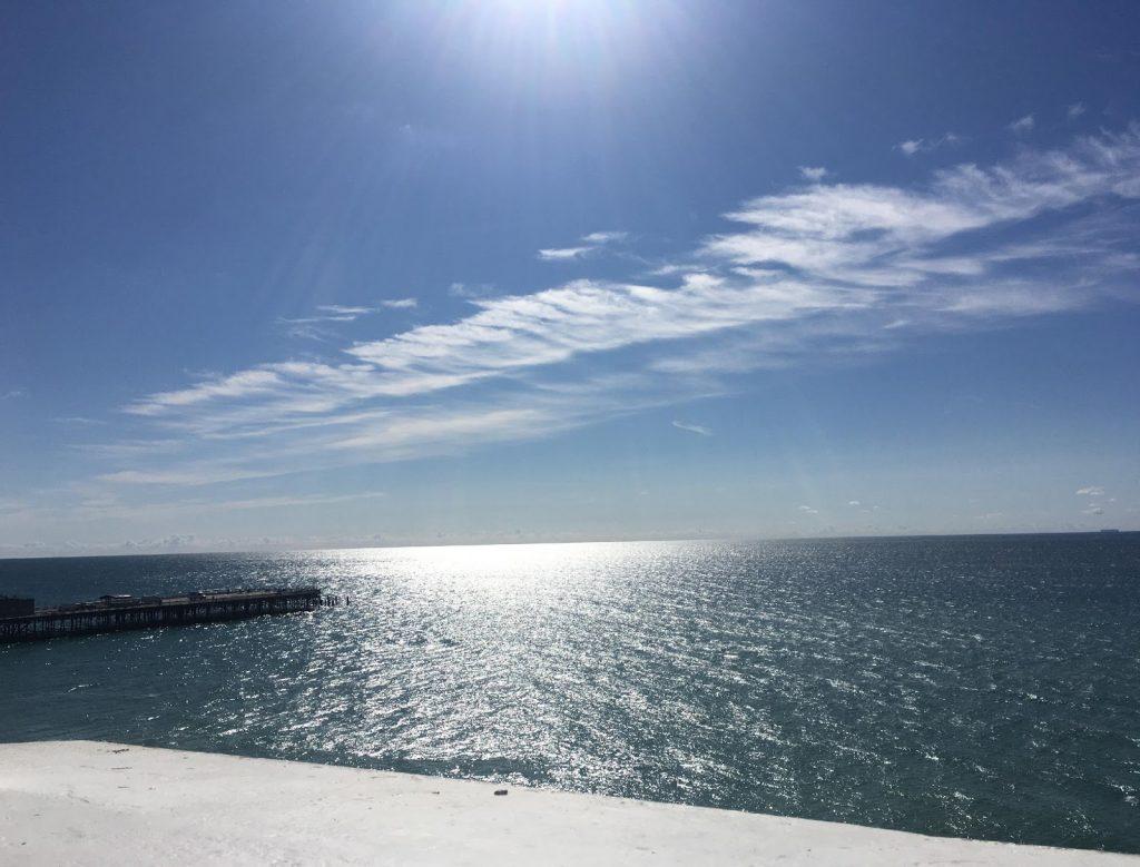 St Leonards-on-Sea seaview